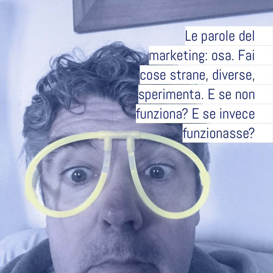 le parole del marketing,osa